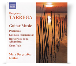 Tárrega: Guitar Music
